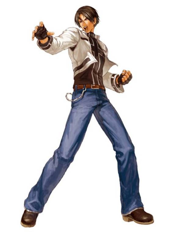 "Kyo de ""The King of Fighters"""