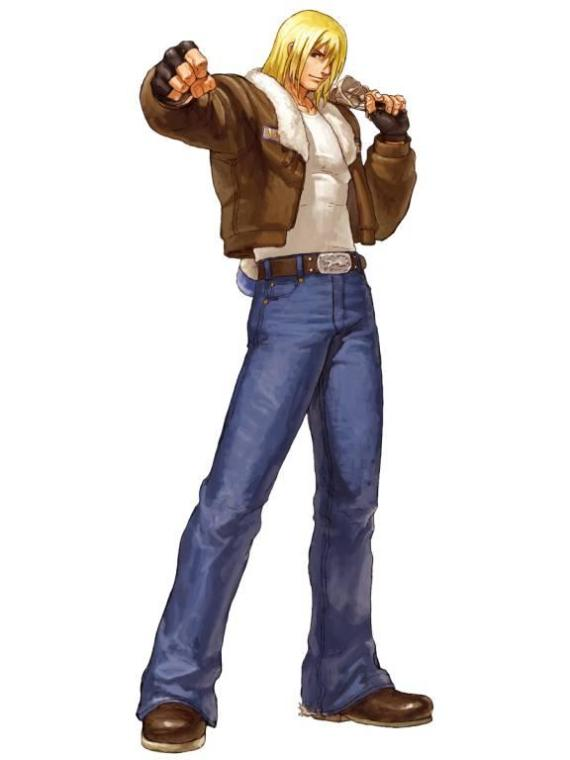 "Terry Bogard de ""Mark of the Wolves"""