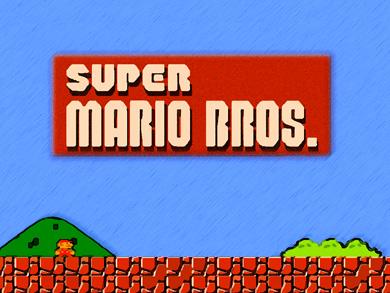 por que los videojuegos sin  Super Mario Bros no son videojuegos