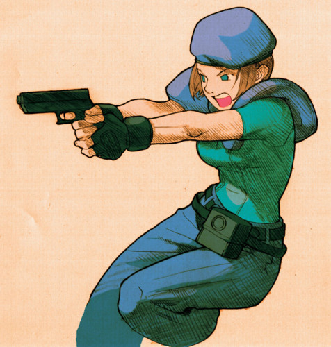 Jill Valentine version de Marvel vs Capcom
